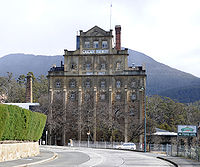 Built in Hobart in 1824, Cascade Brewery is Australia's oldest continuously operating brewery.