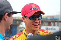 Joey Logano started from pole position.