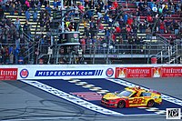 Joey Logano won the first stage.