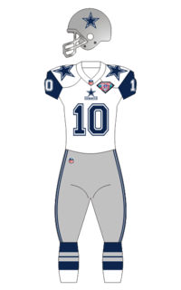 """The """"throwback double-star"""" introduced in 1994 for the NFL 75th Anniversary"""
