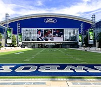 Ford Center at the Star, home of Cowboys training camp since 2016