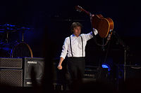 Paul McCartney performs live in Montevideo, Uruguay, April 2012
