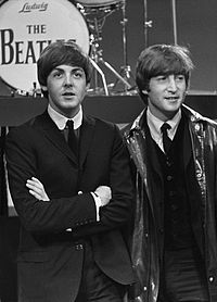 McCartney and Lennon in 1964