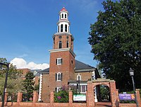 Christ Church in Alexandria was frequented by George Washington.