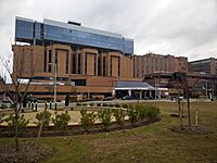 Sentara Norfolk General Hospital, part of the Hampton Roads based Sentara Health System and a teaching institution of Eastern Virginia Medical School, was the site of the first successful in-vitro fertilization birth.
