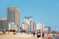 Ocean tourism is an important sector of Virginia Beach's economy.