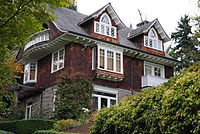 Cobain's house in Seattle where he was found dead in April 1994