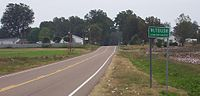 Nutbush, an unincorporated area in Haywood County, Tennessee