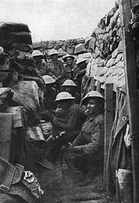 Members of the 53rd Battalion prior to the Battle of Fromelles; three of the men survived the battle, all wounded