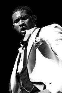 Usher on his 2008 One Night Stand: Ladies Only Tour, at the Warfield Theatre