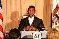 Usher at the 2015 Kennedy Center Honors