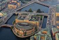 The Riksdag, the Swedish Parliament in 2014
