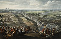 The Battle of Poltava in 1709. In the following years, Russia and her allies occupied all Swedish dominions on the Baltic coast and even Finland.