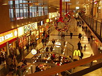 Nordstan is one of the largest shopping malls in northern Europe