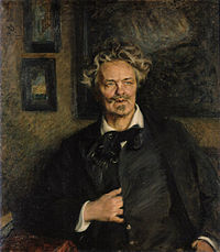 The writer and playwright August Strindberg