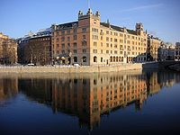 Rosenbad, in central Stockholm, has been the seat of the Government since 1981.