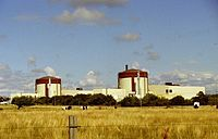 Ringhals Nuclear Power Plant, located south of Gothenburg