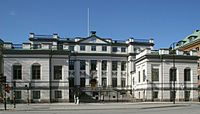 Bonde Palace in Stockholm, seat of the Supreme Court of Sweden