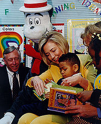 Read Across America Day in Maryland, 1998