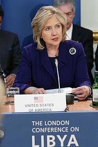 The London meeting to discuss NATO military intervention in Libya, March 29, 2011