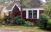 Hillary and Bill lived in this house in Little Rock's Hillcrest neighborhood while he was Arkansas Attorney General (1977–1979).