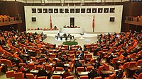 Turkish parliament resumes work after COVID-19 hiatus, while wearing masks and keeping distance