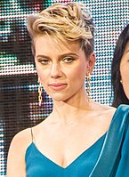 Scarlett Johansson on screen and stage
