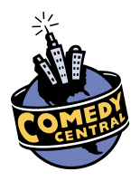 Comedy Central logo used from 1997 to 2000.