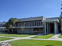 Broward College South Campus administration building