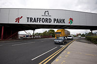 The Trafford Park factory in Greater Manchester, England—Kellogg's European base since 1938. The factory produces more Corn Flakes than any other Kellogg's factory in the world.