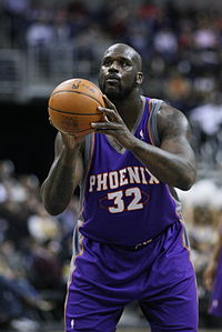 O'Neal's free throw shooting was regarded as one of his major weaknesses.