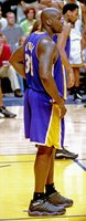 O'Neal during Game 5 of the 2000 NBA Finals.