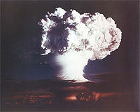 """The 10.4 Mt """"Ivy Mike"""" shot of 1952 appeared to vindicate Teller's long-time advocacy for the hydrogen bomb."""