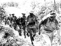 Stilwell marches out of Burma, May 1942