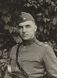 then-Lt. Col. Stilwell as Assistant Chief of Staff, IV Army Corps, October 1918 in France.