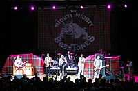 Ska punk band the Mighty Mighty Bosstones performing in 2008