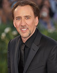 Cage at the 66th Venice Film Festival in September 2009
