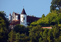 Schloss Neidstein in Bavaria was owned by Cage between 2007 and 2009.