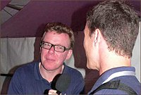 Andrew Marston interviews The Proclaimers at the Big Chill