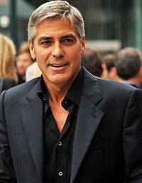Clooney at the premiere of The Men Who Stare at Goats in the 2009 Toronto International Film Festival
