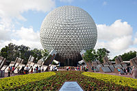 Epcot opened in October 1982.