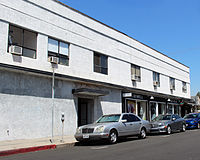 The building in the Los Angeles neighborhood of Los Feliz which was home to the studio from 1923 to 1926.