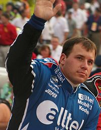 Ryan Newman won pole position with the fastest time, 14.908 seconds.