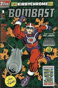 Topps Comics' Bombast #1 (April 1993). Cover art by Kirby.