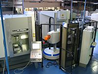 Automated milling machines