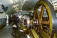 Steam engines are a technology created during the 1700s used to promote automation.