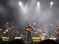 Wilco performing in Spain in 2007