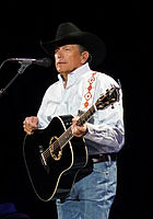 """George Strait, a pioneer of the neotraditionalist movement and dubbed the """"King of Country,"""" Strait is one of the best selling musicians of all-time."""