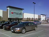 Macy's Lifestyle Store in Fairview, Texas, opened on August 5, 2009.