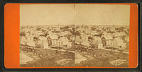 General view of Boston, by J. J. Hawes, c. 1860s–1880s